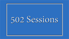 502 Sessions on Dedham Television