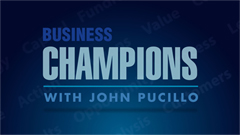 Business Champions with John Pucillo on Dedham TV.