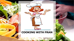 COOKING WITH FRAN on Dedham TV!