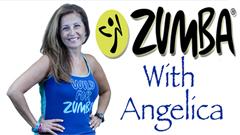 Zumba with Angelica on Dedham TV.