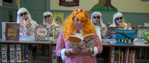 Oakdale School PSA music video about the joys of reading.