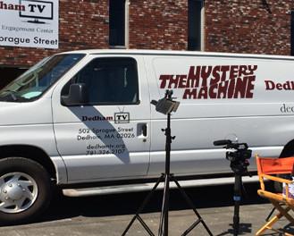 DTV's Mystery Machine Scooby-Doo Van!