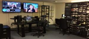 Dedham TV's Broadcast Booth uses the latest in HD video broadcast and streaming technologies.