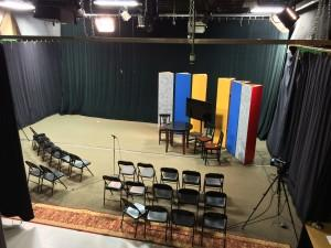 Dedham TV Studio - the largest publicly-held studio in New England.