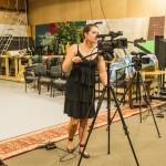 Summer Camps – Anne Sets Up Cameras for a 'Dedham's Got Talent' Shoot